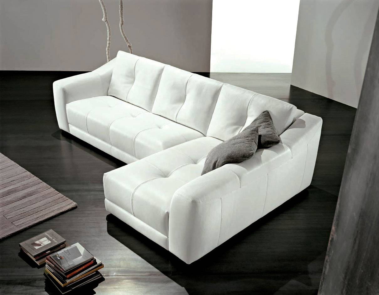Furniture: Fabulous L Shaped Sofa For Modern Living Room in Leather L Shaped Sectional Sofas (Image 10 of 30)