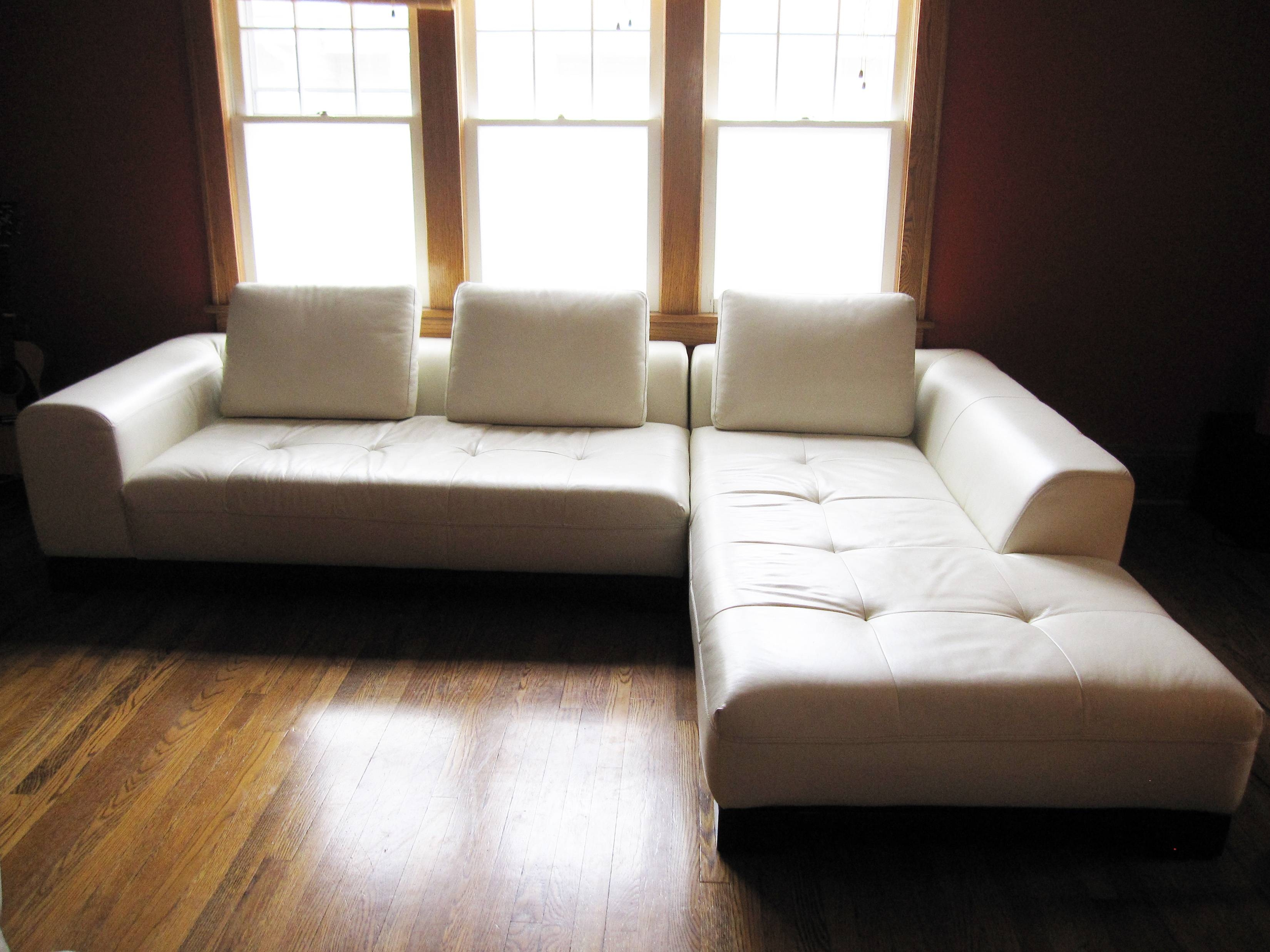 Furniture: Fabulous L Shaped Sofa For Modern Living Room with regard to Tufted Sectional Sofa With Chaise (Image 7 of 30)