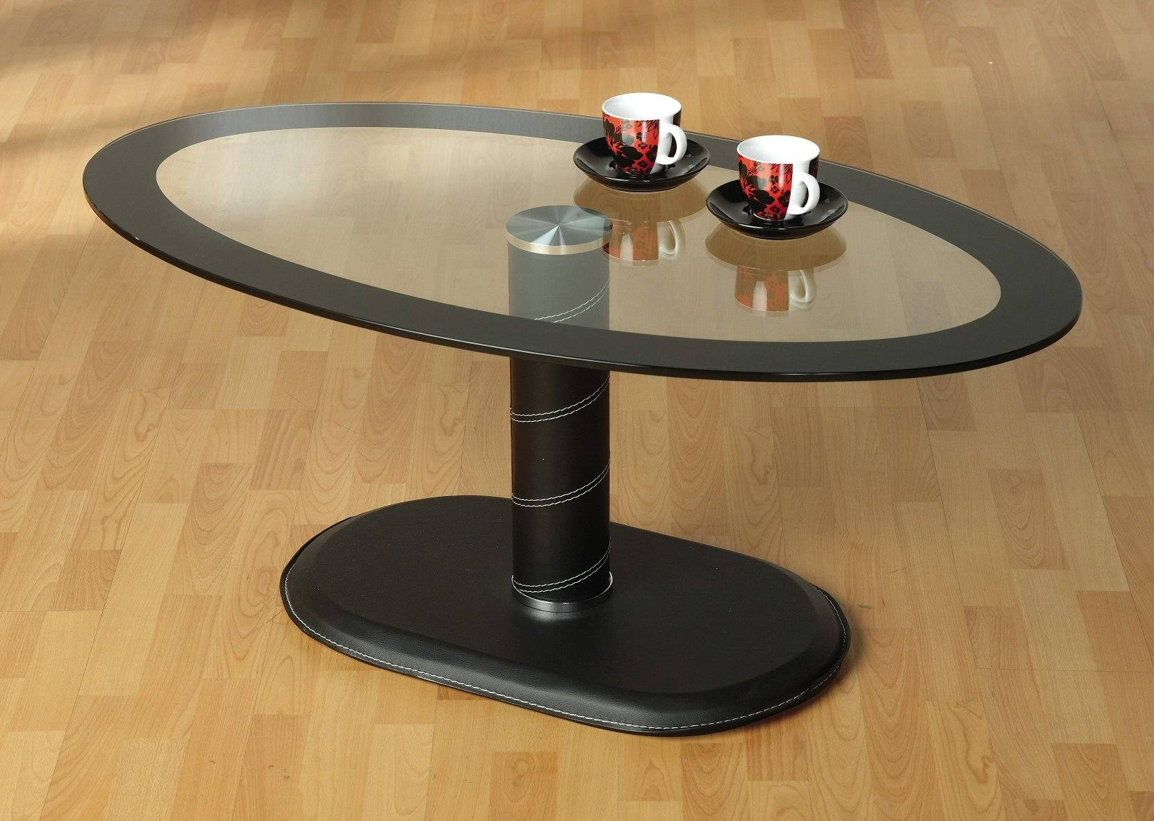 Furniture: Fancy Coffee Tables | Marble Coffee Tables | Small Oval with regard to Oval Black Glass Coffee Tables (Image 15 of 30)