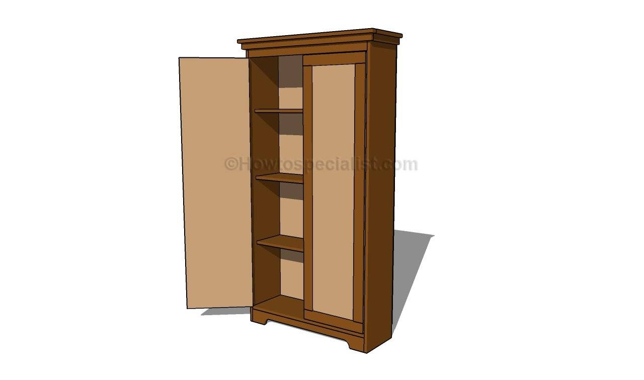 Furniture: Fancy Wardrobe Armoire For Wardrobe Organizer Idea in Pine Wardrobe With Drawers And Shelves (Image 16 of 30)