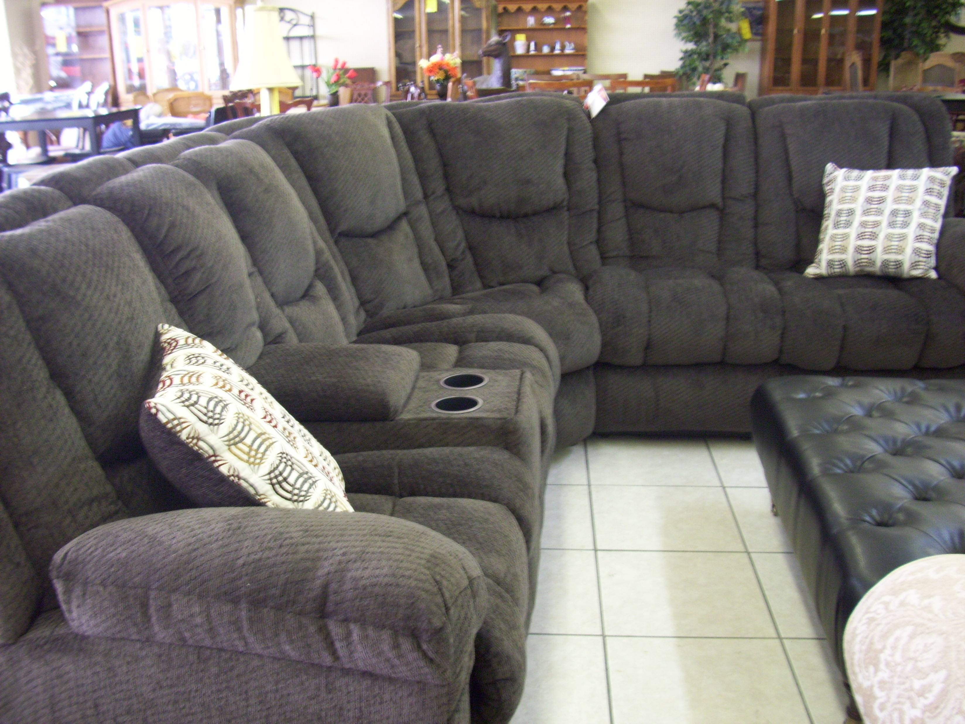 Furniture: Fantastic Sectional Couches With Recliners For Your throughout Slipcovers for Sectional Sofas With Recliners (Image 7 of 30)