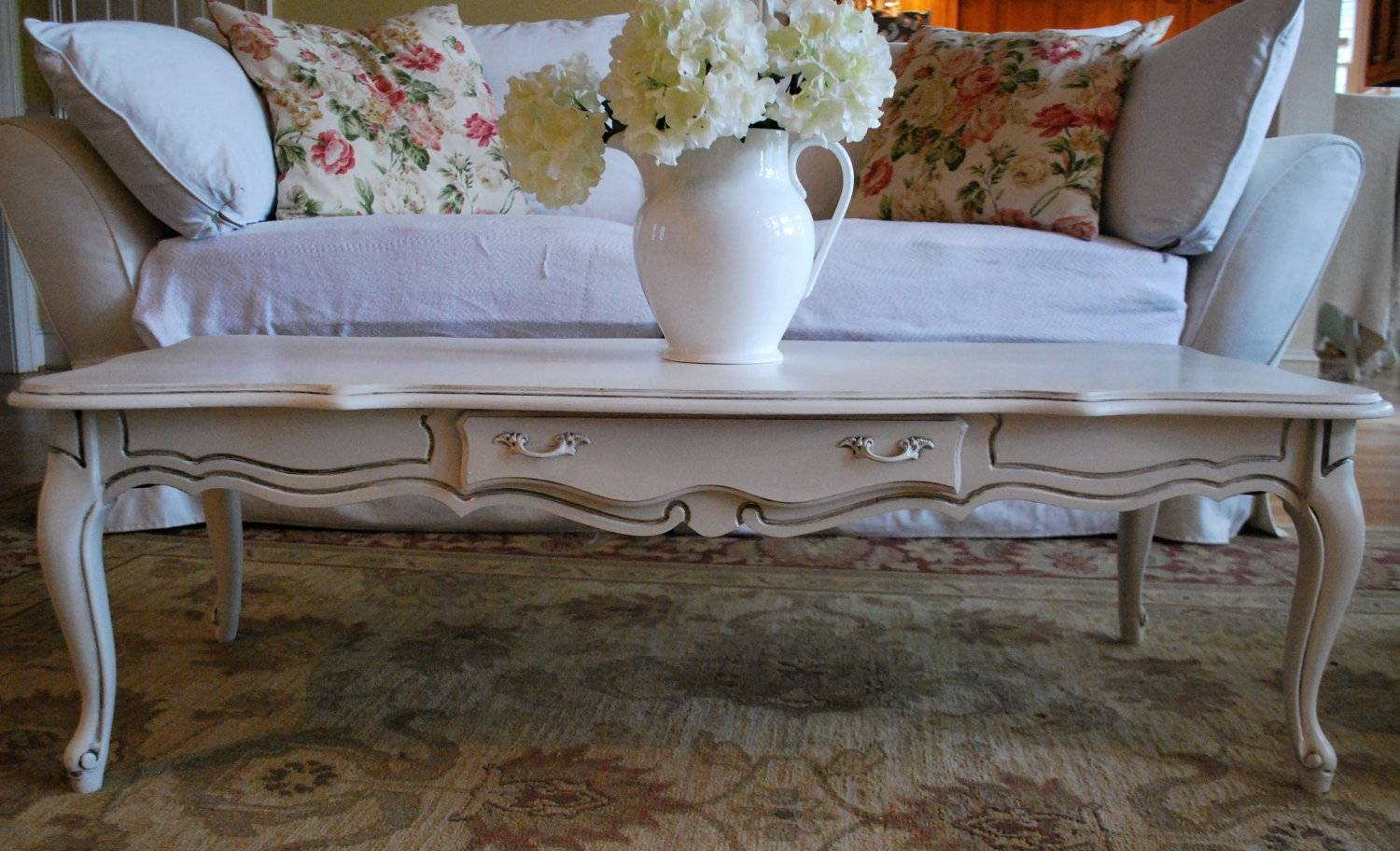 Furniture : Fascinating White French Style Coffee Table Friday within French Style Coffee Tables (Image 19 of 30)