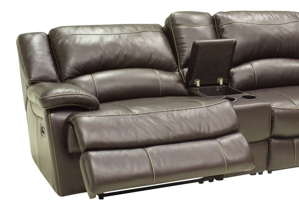 Furniture: Find Your Maximum Comfort With Reclining Couches For throughout Modern Reclining Leather Sofas (Image 8 of 30)