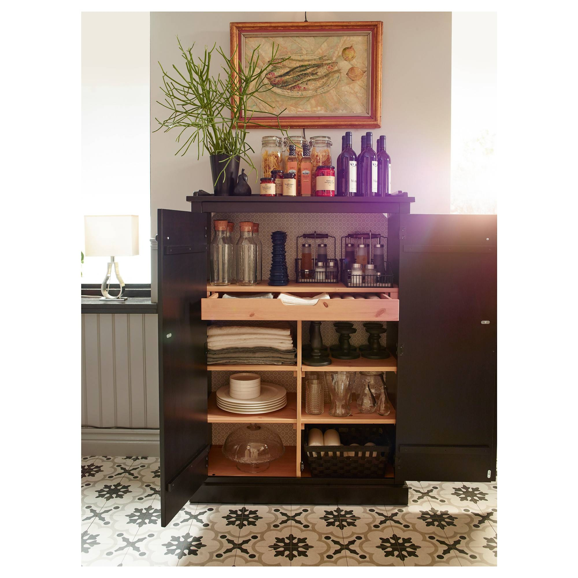 Furniture: Flexible Storage Solutions For Your Dining Room With in Tall Sideboards (Image 8 of 30)