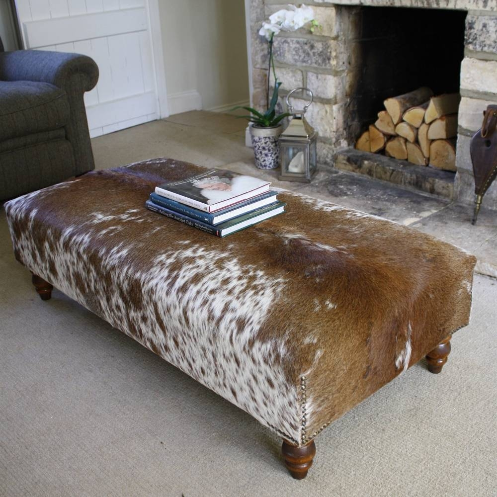 Furniture Foot Stools, Large Rectangular Whide Footstool Chairs with regard to Large Footstools (Image 22 of 30)