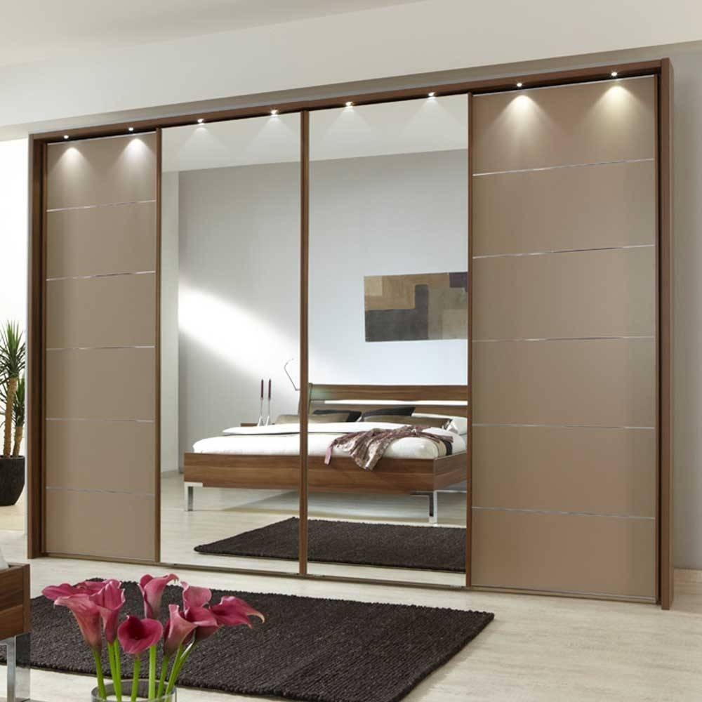 Furniture For Modern Living - Furniture For Modern Living in 4 Door Mirrored Wardrobes (Image 6 of 15)