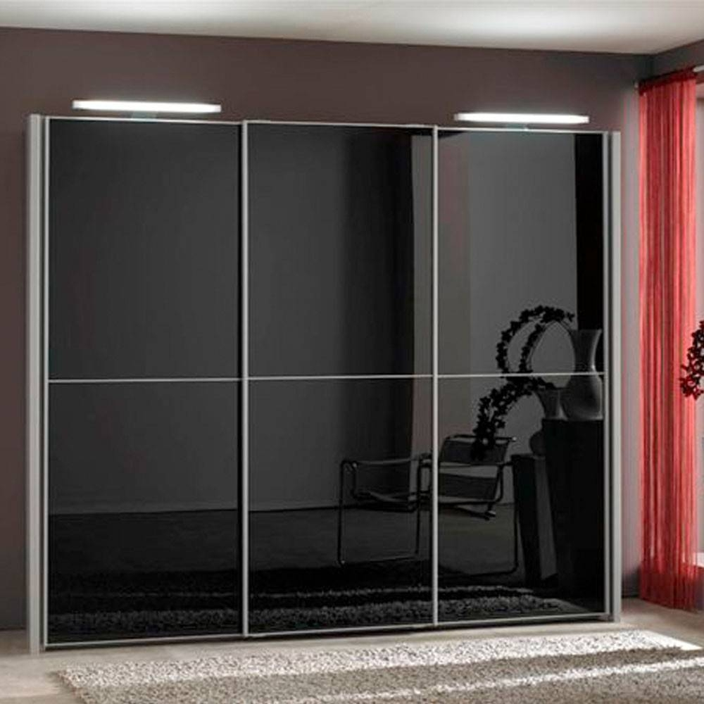 Furniture For Modern Living - Furniture For Modern Living pertaining to 3 Door Black Wardrobes (Image 7 of 15)