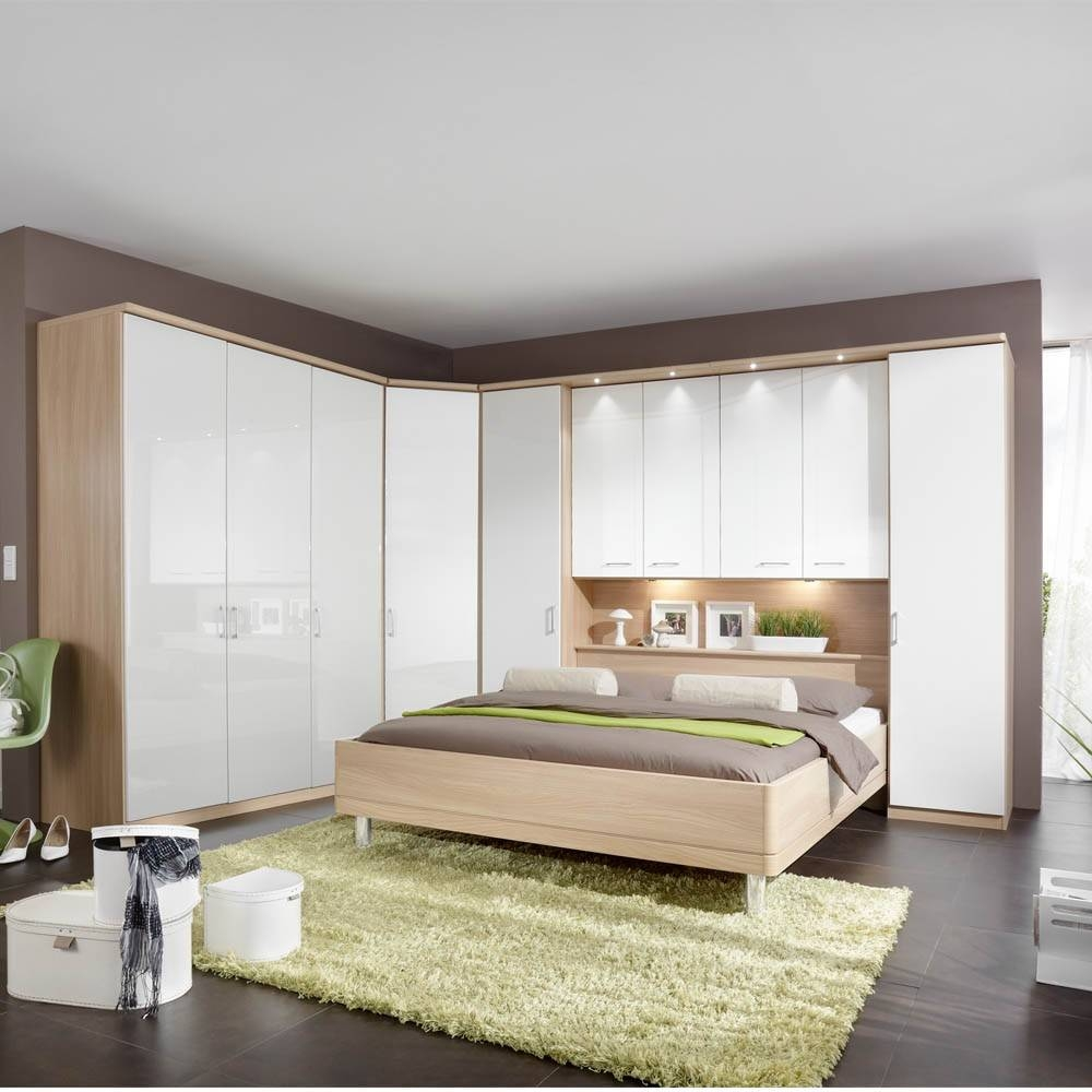 Furniture For Modern Living - Furniture For Modern Living regarding Oak and White Wardrobes (Image 10 of 15)