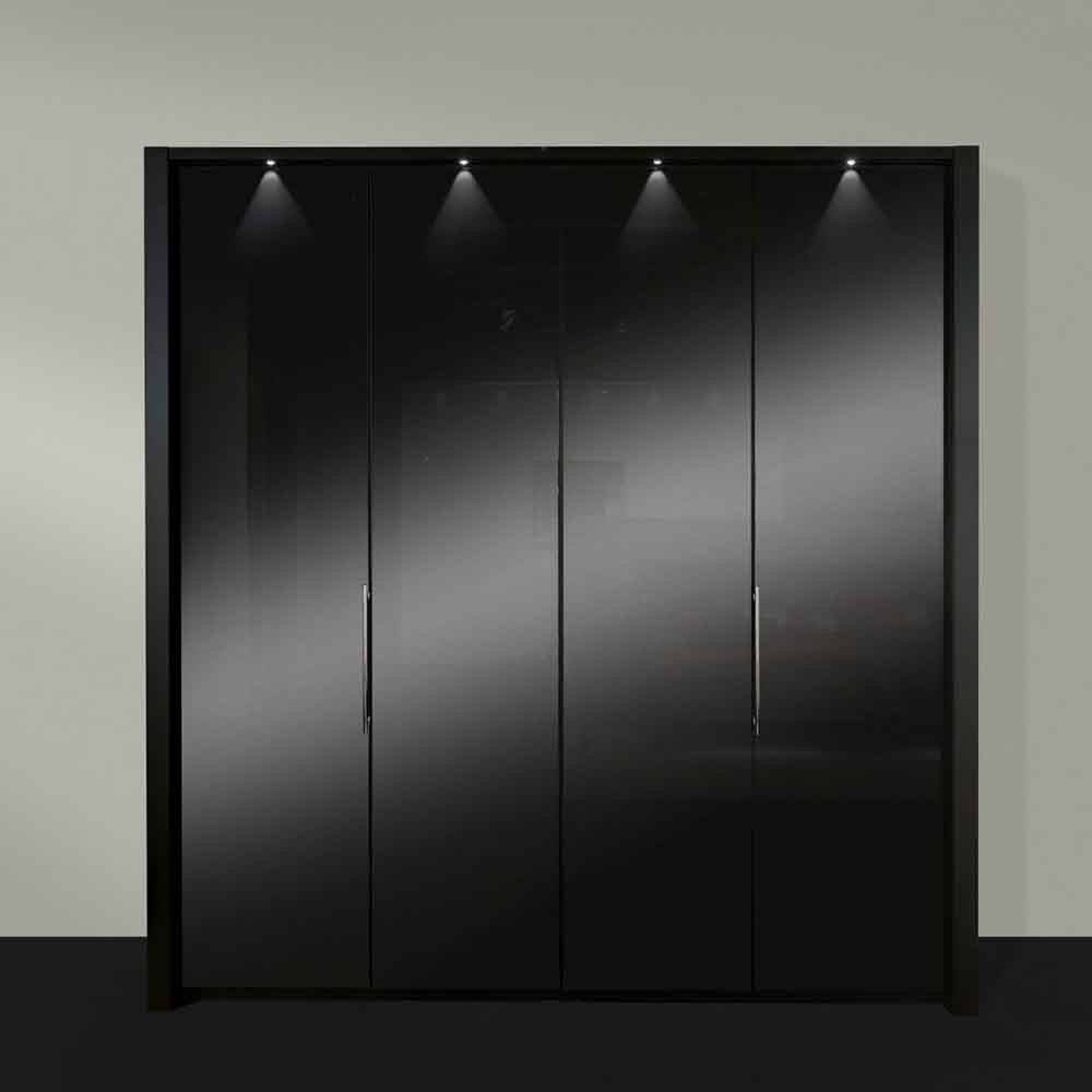 Furniture For Modern Living - Furniture For Modern Living throughout Black Wardrobes (Image 3 of 15)