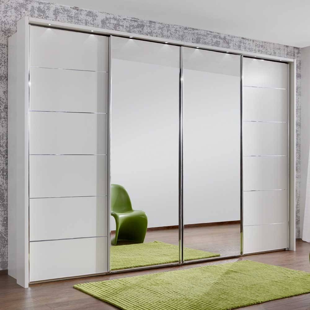 Furniture For Modern Living - Furniture For Modern Living with 4 Door White Wardrobes (Image 7 of 15)