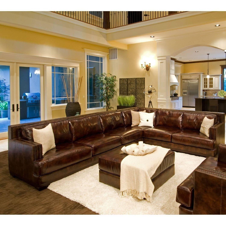 Furniture: Full Grain Leather Sofa | Leather Sofa Recliner with Full Grain Leather Sofas (Image 22 of 30)