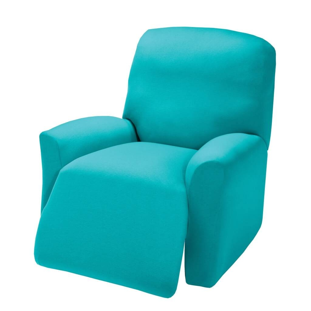 Furniture: Give Your Furniture Makeover With Sofa Recliner Covers throughout Turquoise Sofa Covers (Image 9 of 30)
