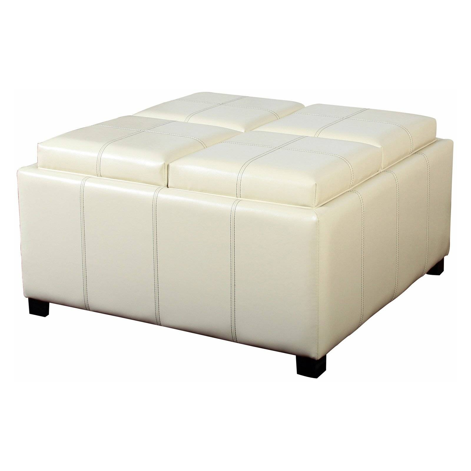 Furniture. Glamorous White Coffee Tables With Storage For Warm in White Coffee Tables With Baskets (Image 16 of 30)