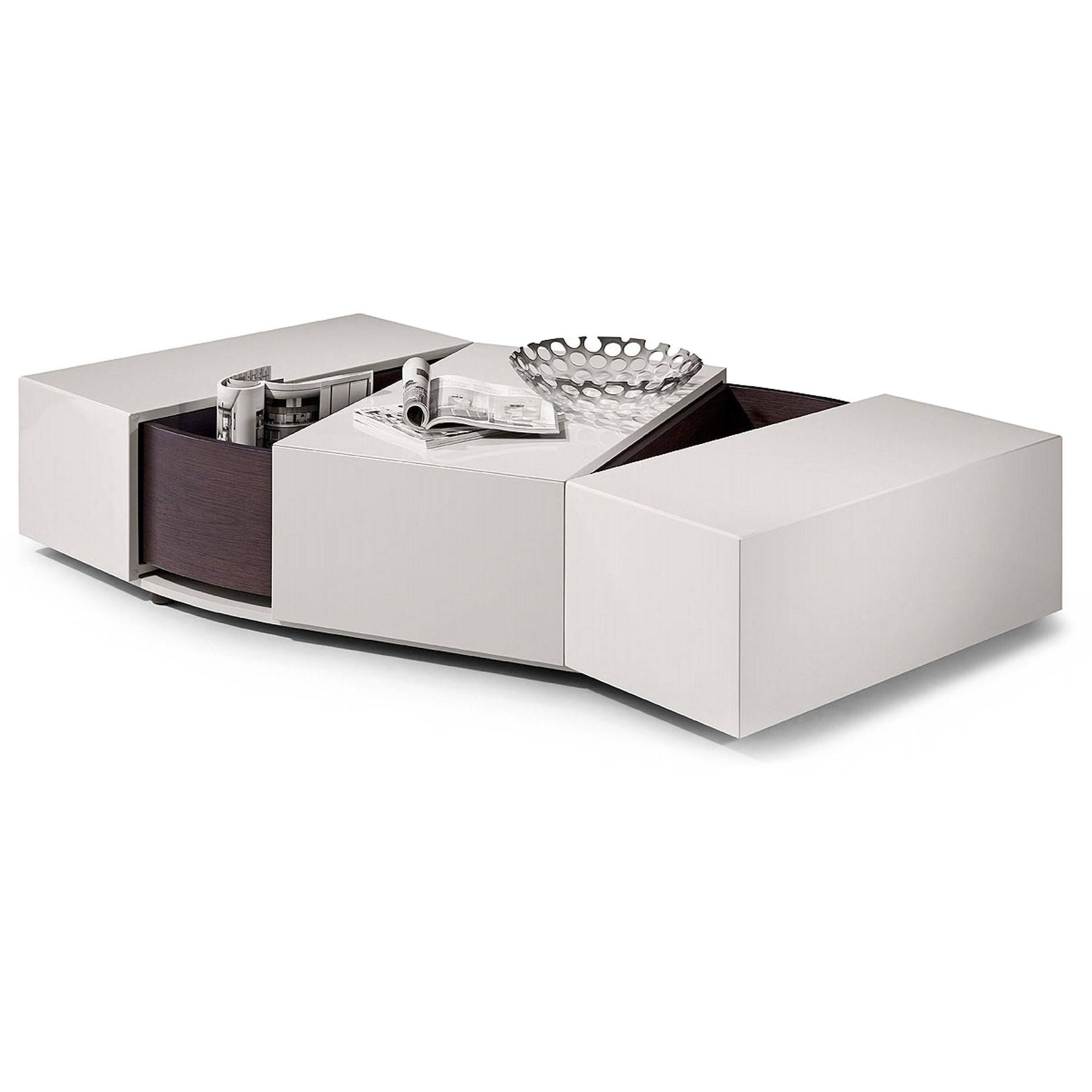 Furniture. Glamorous White Coffee Tables With Storage For Warm with White Coffee Tables With Storage (Image 16 of 30)