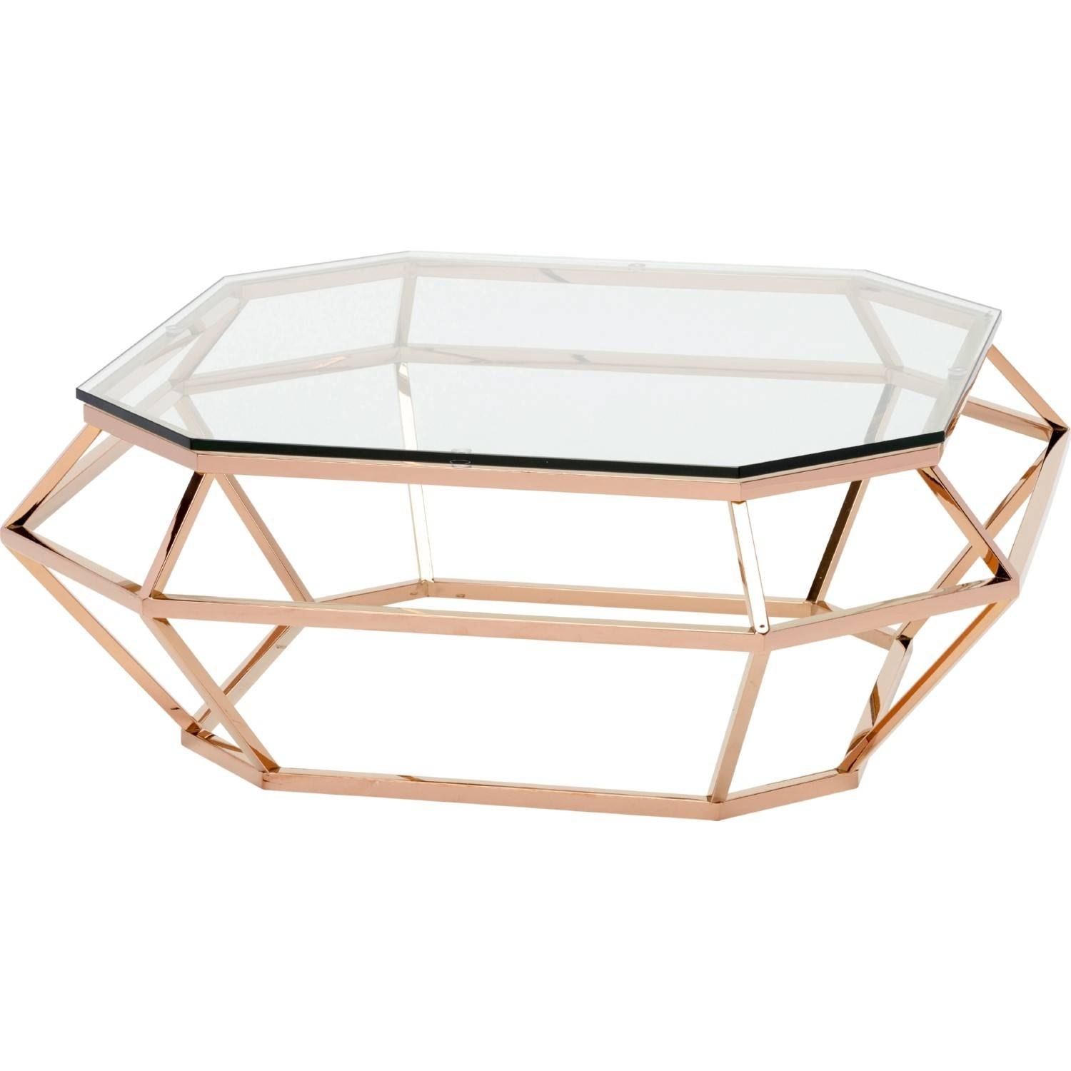 Furniture Glass And Gold Coffee Table Ideas: Bronze Rectangle With Glass Gold Coffee Tables (Photo 16 of 30)