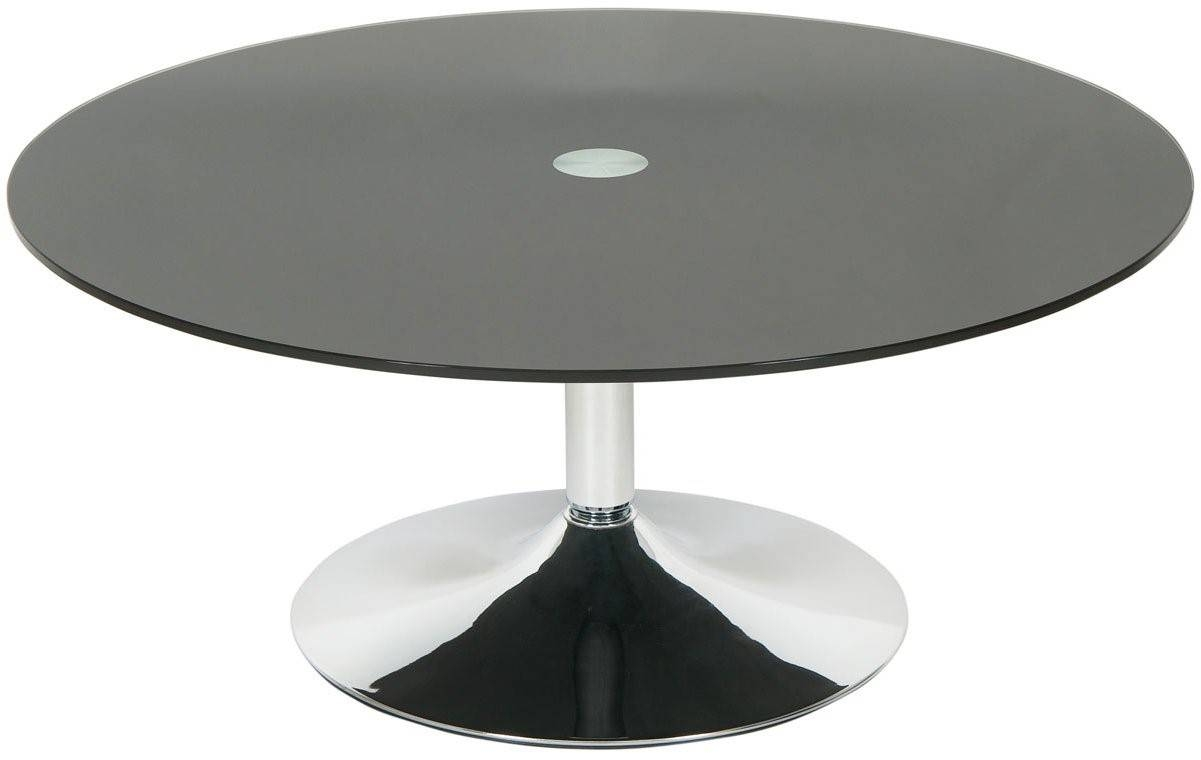 Furniture: Glass Round Coffee Table Ideas Round Wood Coffee Table pertaining to Glass Circular Coffee Tables (Image 13 of 31)