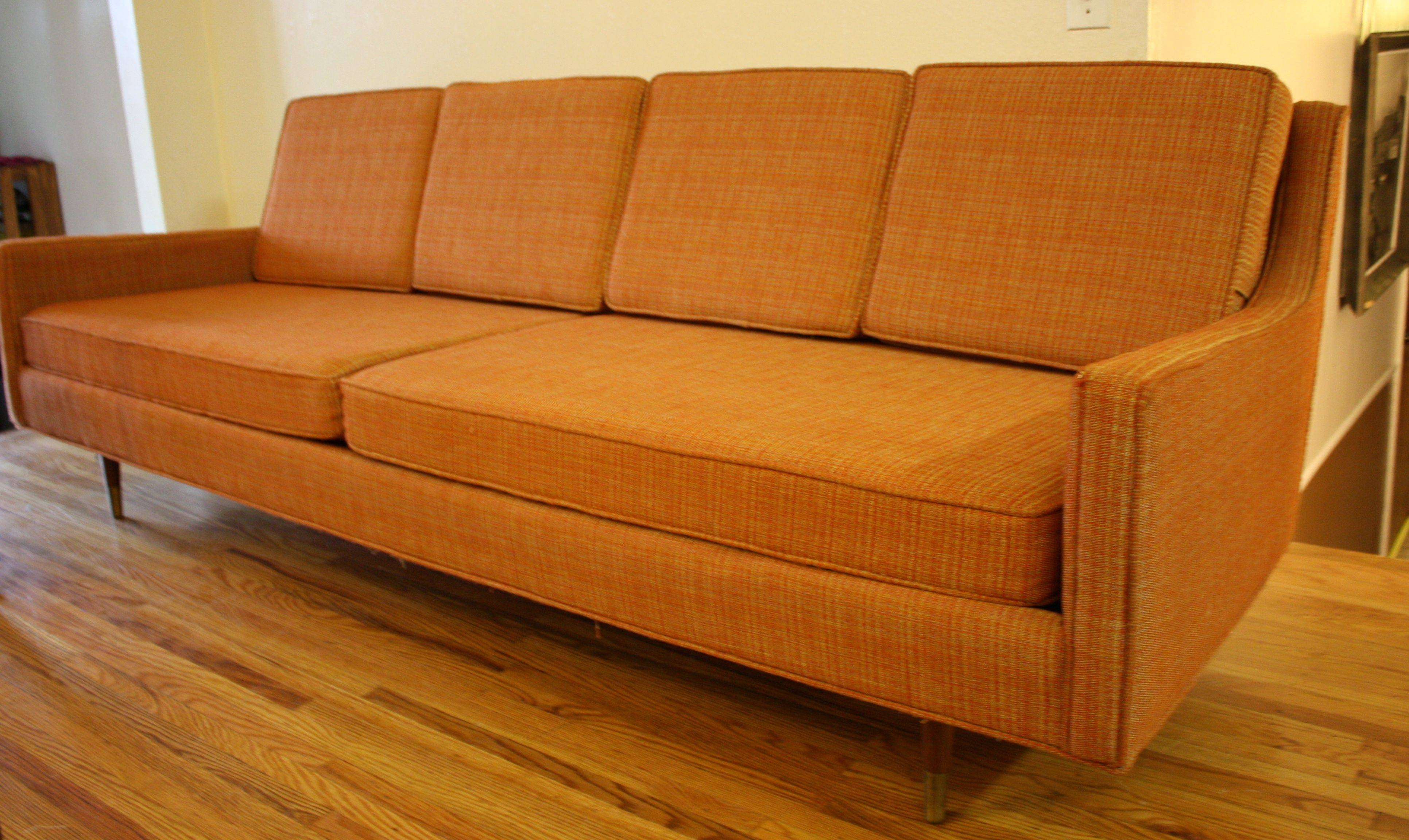 Furniture: Grey Mid Century Sofas With Wood Legs For Inspiring in Wood Legs Sofas (Image 12 of 30)