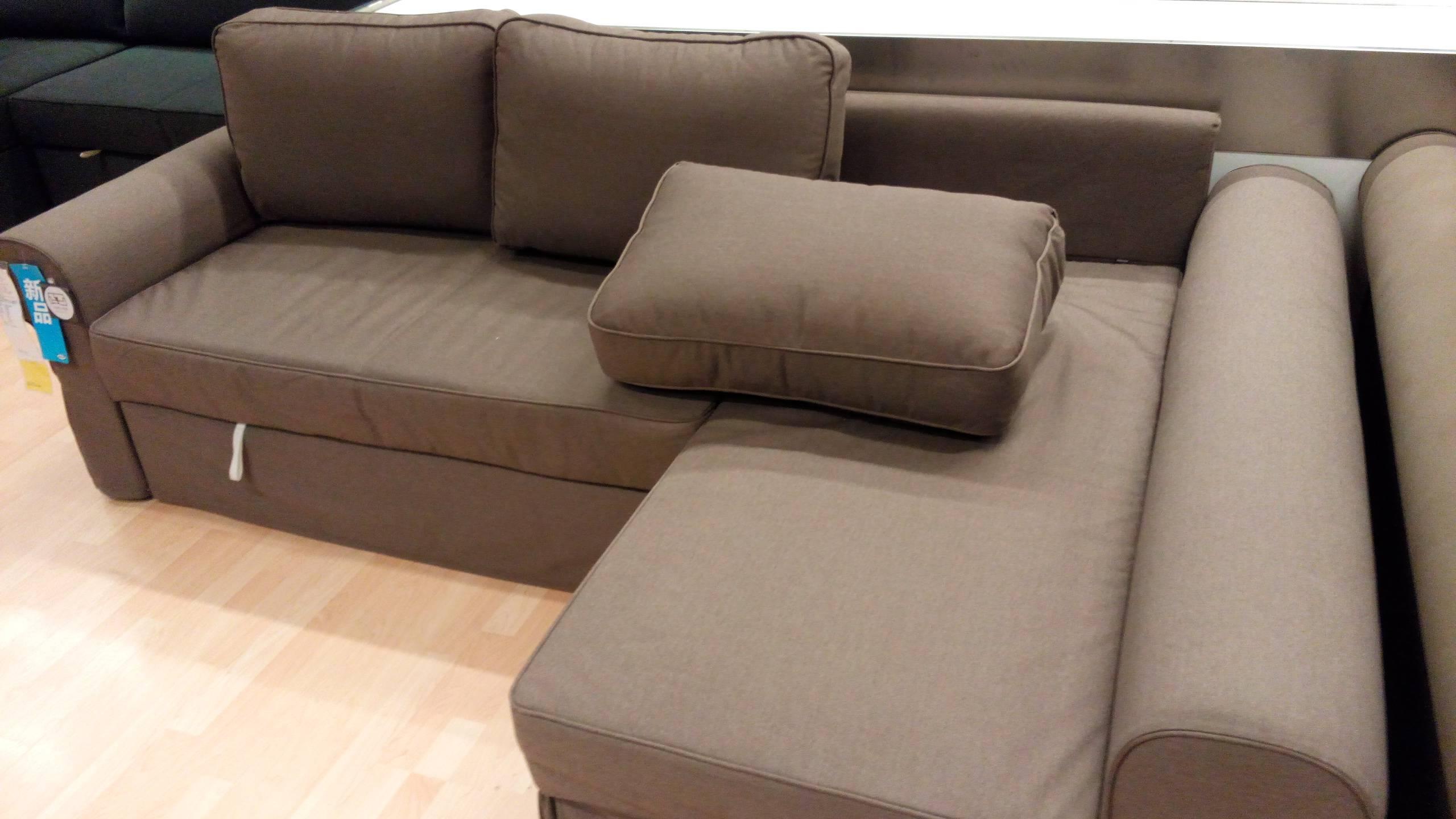 Furniture: Grey Sectional Ikea | Friheten Sofa Bed Review | Ikea with Ikea Sectional Sofa Bed (Image 5 of 25)