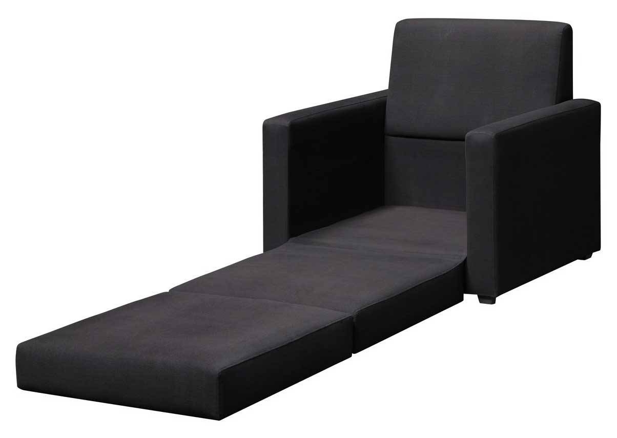 Furniture Home : Black Sofa Bed Chair Single That Perfect For intended for Single Chair Sofa Bed (Image 7 of 30)