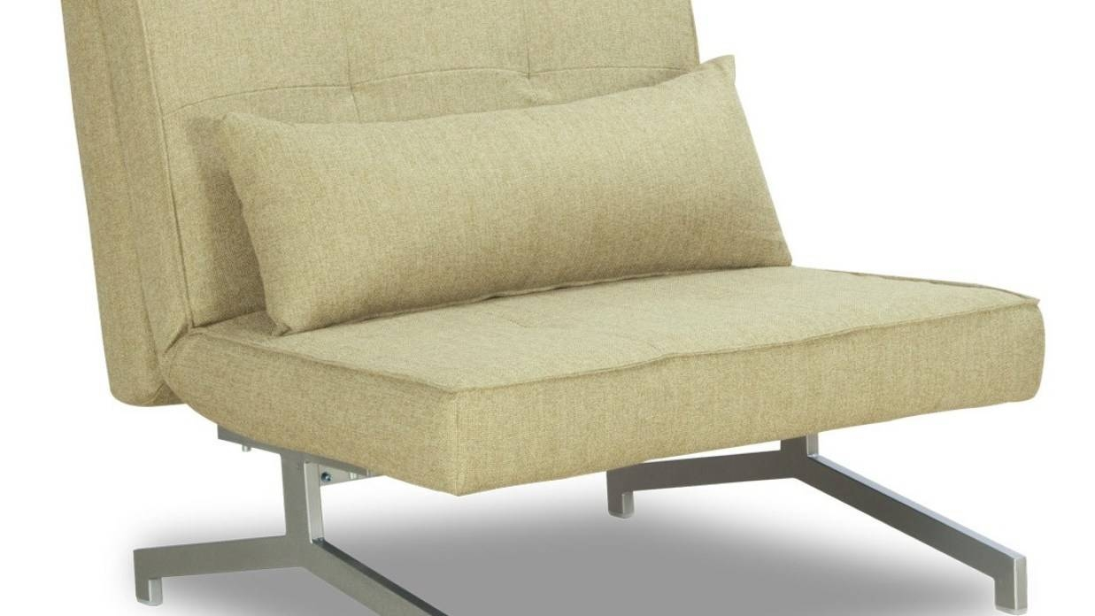 Furniture Home: Cloud Contemporary Comfy Luxury Modern Single Sofa pertaining to Single Sofa Beds (Image 4 of 30)