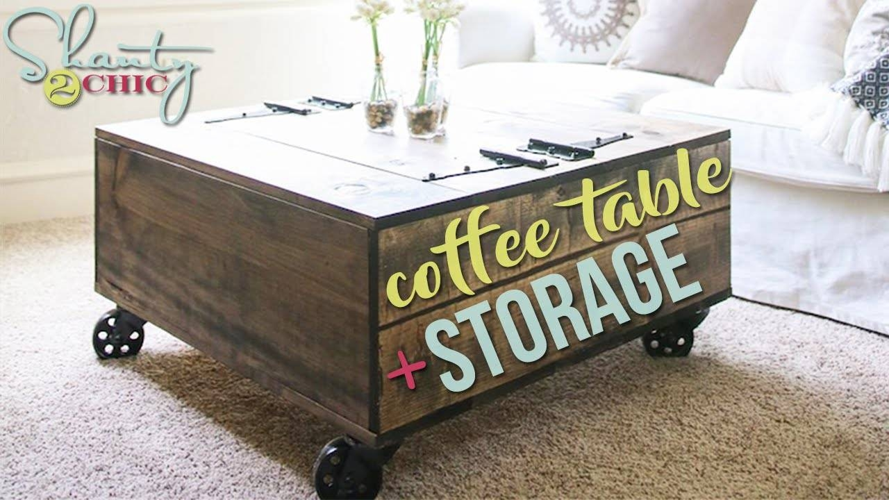 Furniture Home : Contemporary Round Coffee Tables With Storage inside Round Coffee Tables With Storage (Image 17 of 30)