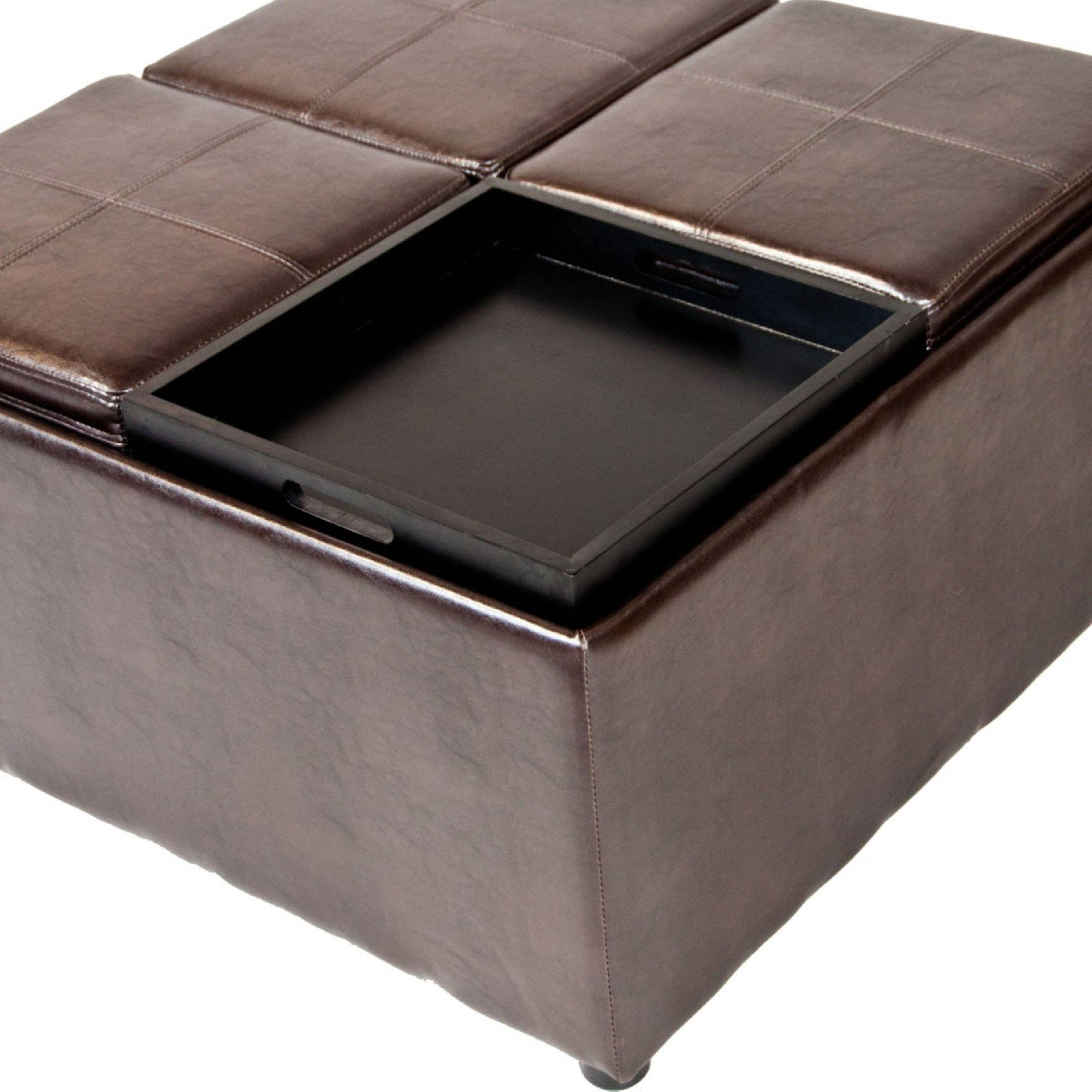 Furniture Home : Contemporary Round Coffee Tables With Storage within Round Coffee Table Storages (Image 14 of 30)