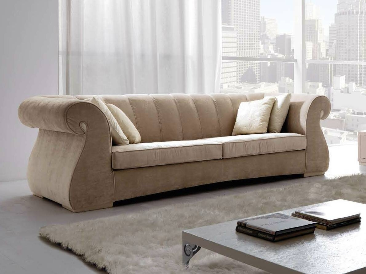 Furniture Home: Fabric Sofa Inspirations Furniture Designs (10 regarding Elegant Fabric Sofas (Image 17 of 30)