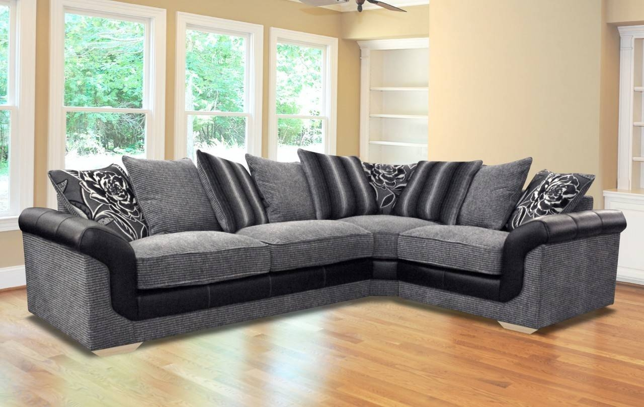 Furniture Home: Fabric Sofa Inspirations Furniture Designs (5 intended for Elegant Fabric Sofas (Image 18 of 30)