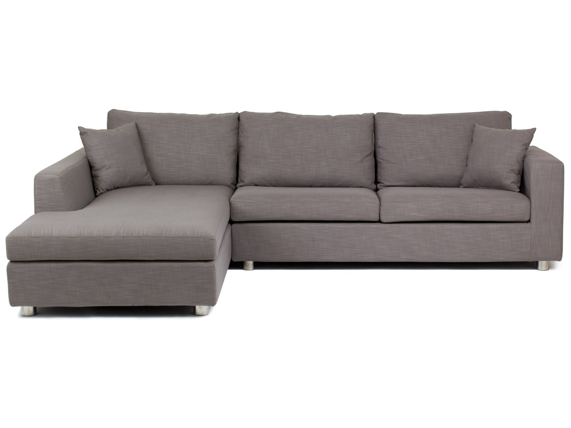 Furniture Home : Jaqueline (Leiden) In Charcoal Grey Bed Chaise throughout Angled Chaise Sofa (Image 7 of 30)
