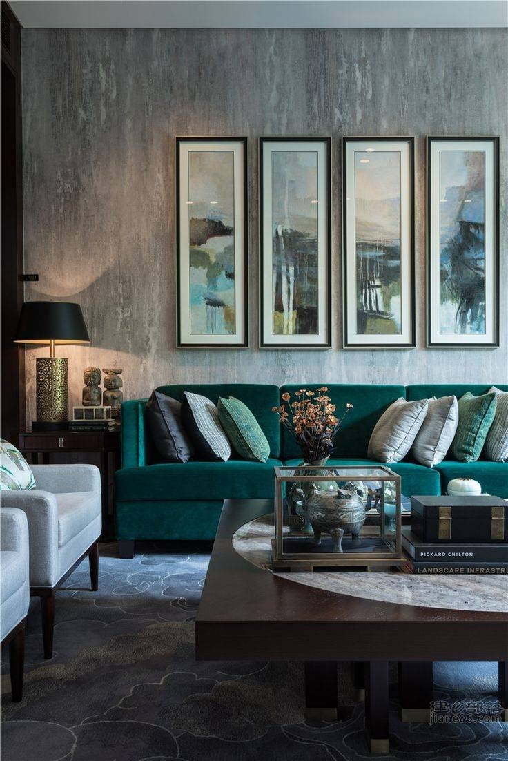 Furniture Home : Teal Sofa New Design Modern 2017 (3)New Design regarding Gothic Sofas (Image 16 of 30)