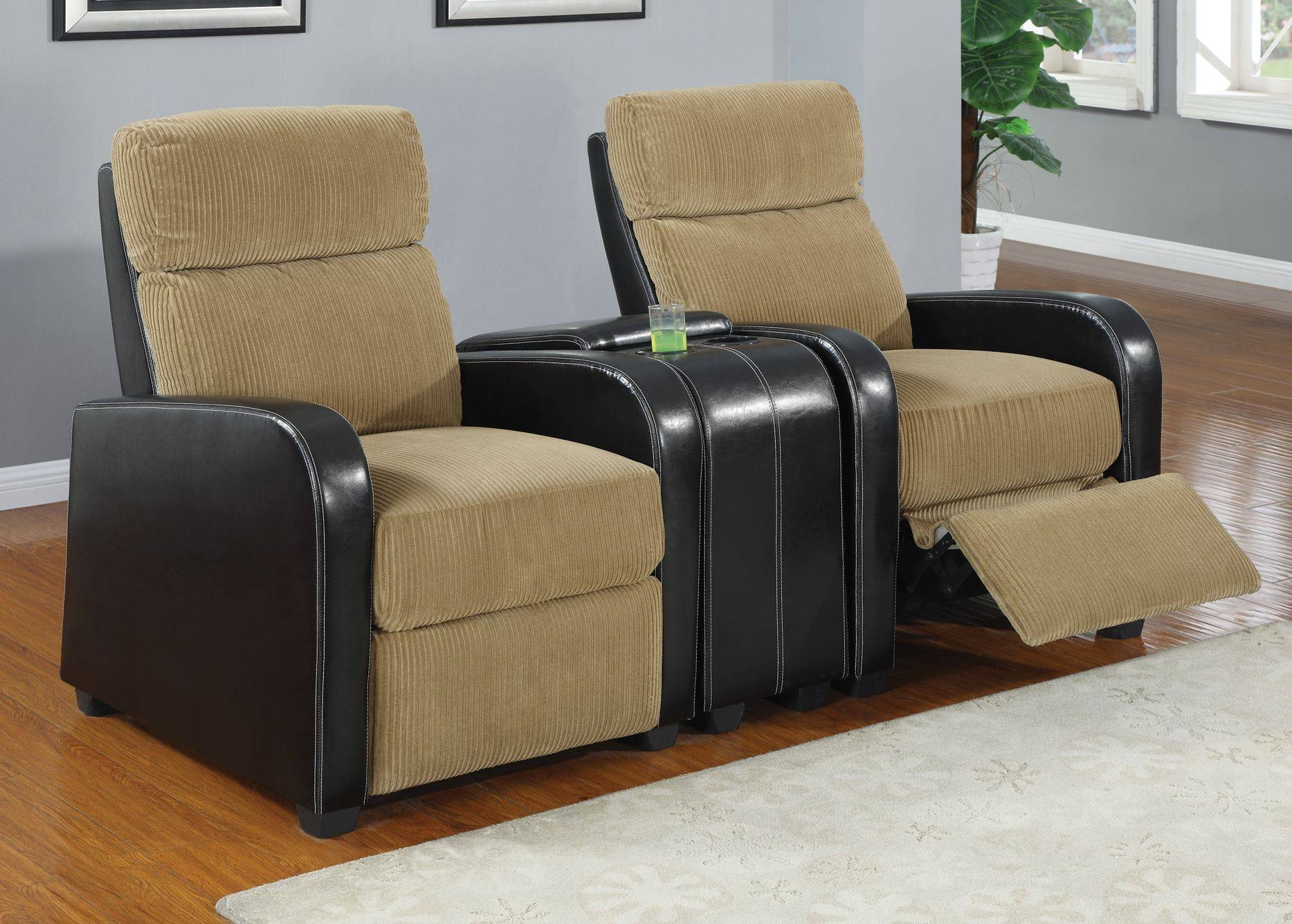 Furniture: Home Theater Couches | Home Theater Sectional Sofa with Theatre Sectional Sofas (Image 10 of 30)