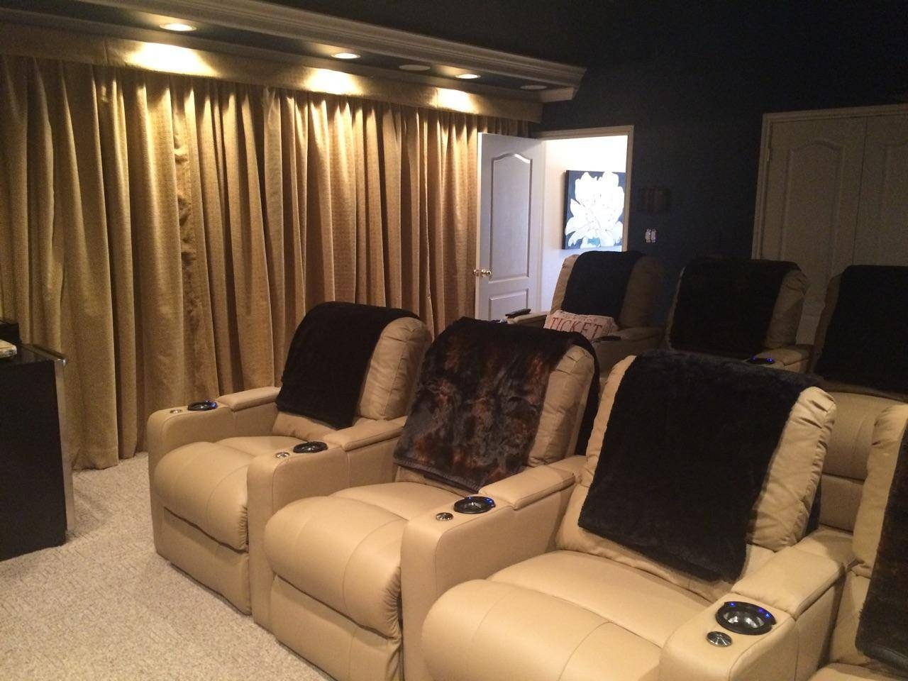 Furniture: Home Theater Couches | Home Theater Sectional Sofa within Theatre Sectional Sofas (Image 12 of 30)