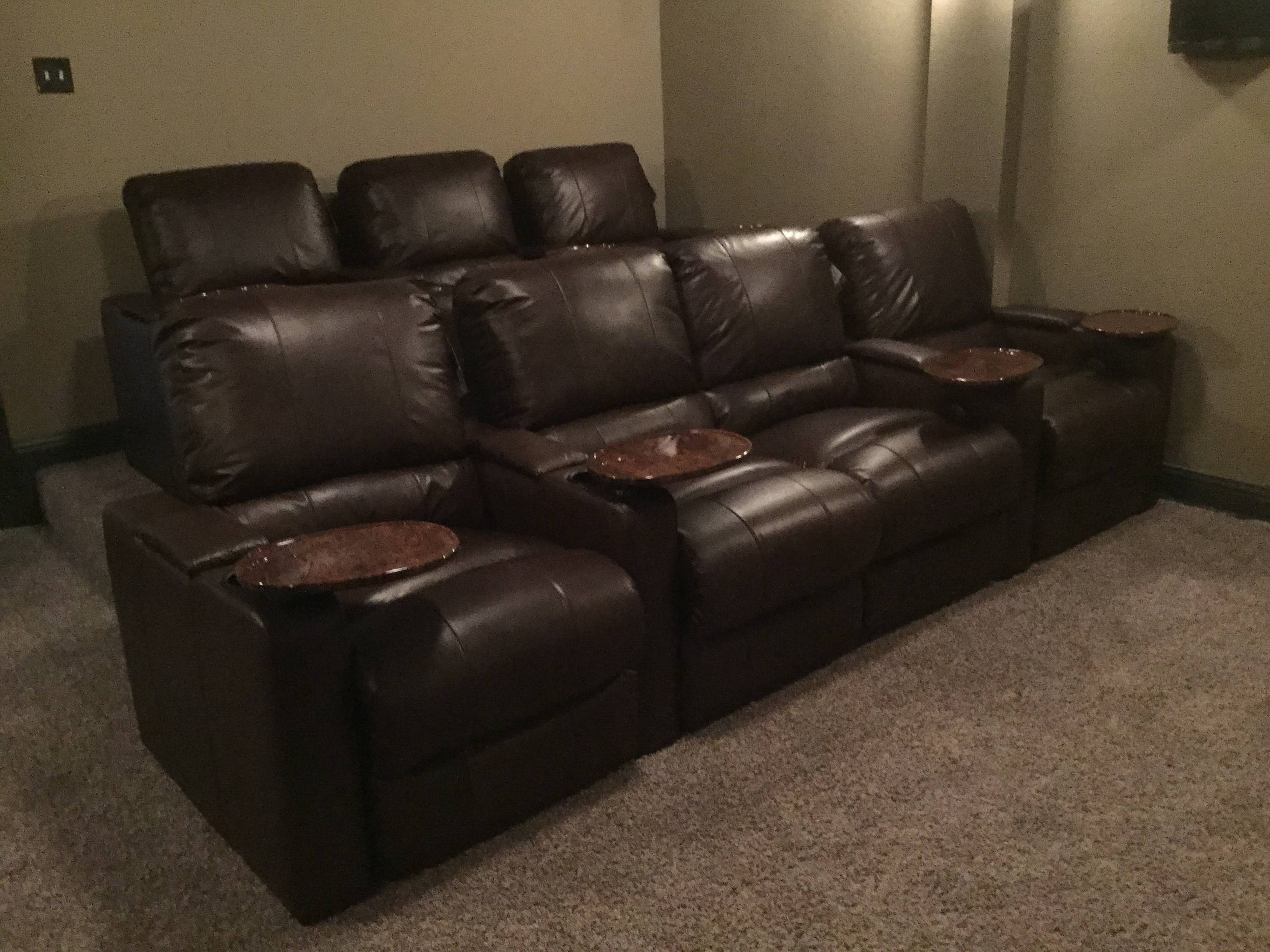 Furniture: Home Theater Couches | Home Theater Sectional Sofa within Theatre Sectional Sofas (Image 11 of 30)