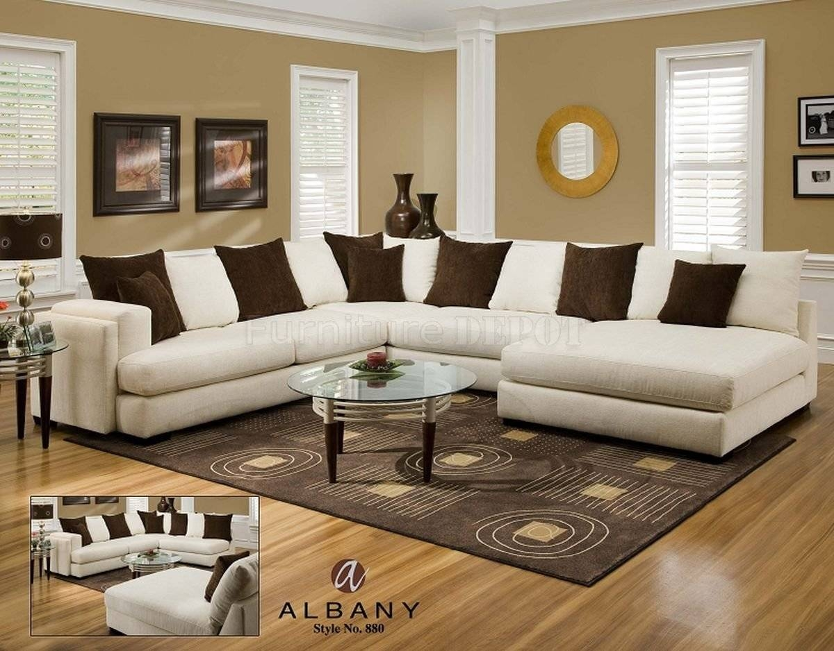 Furniture Home: Trend Microfiber Sectional Sofa With Chaise 43 in Elegant Sectional Sofas (Image 22 of 30)