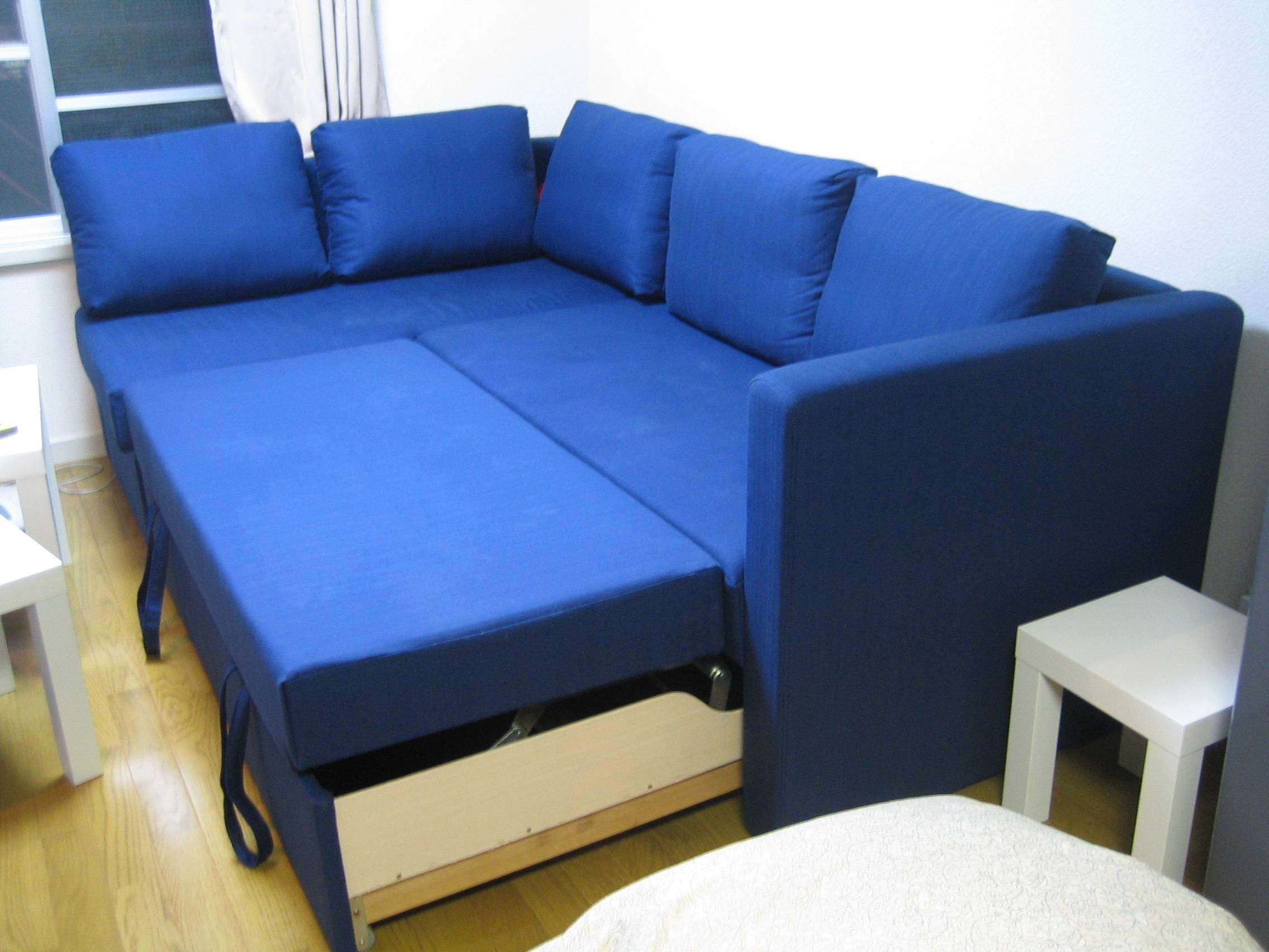 Furniture: Ikea Kivik Sofa Bed | Ikea Sofa Beds | Ikea Leather pertaining to Cushion Sofa Beds (Image 10 of 30)