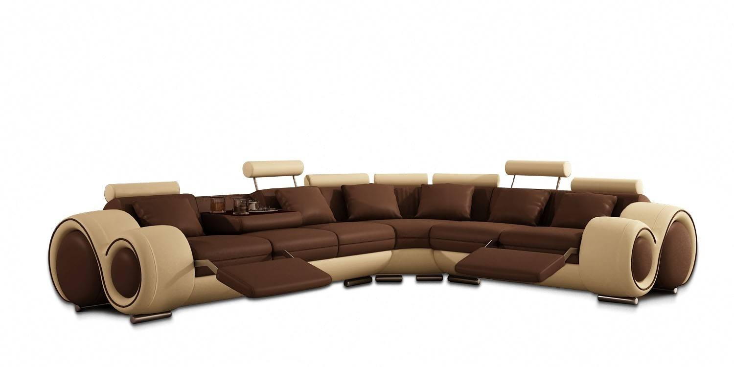 Furniture: Incredible Style Sectional Reclining Sofas For Your pertaining to Jedd Fabric Reclining Sectional Sofa (Image 10 of 30)