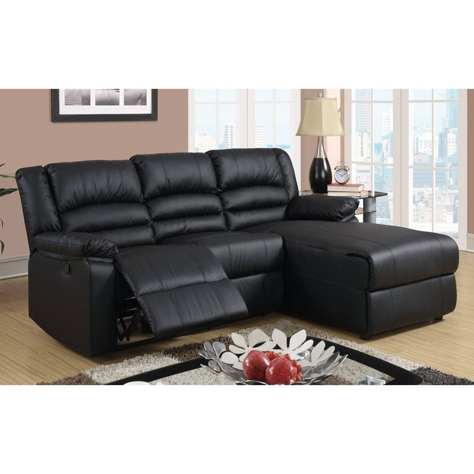 Furniture: Incredible Style Sectional Reclining Sofas For Your regarding Leather L Shaped Sectional Sofas (Image 12 of 30)