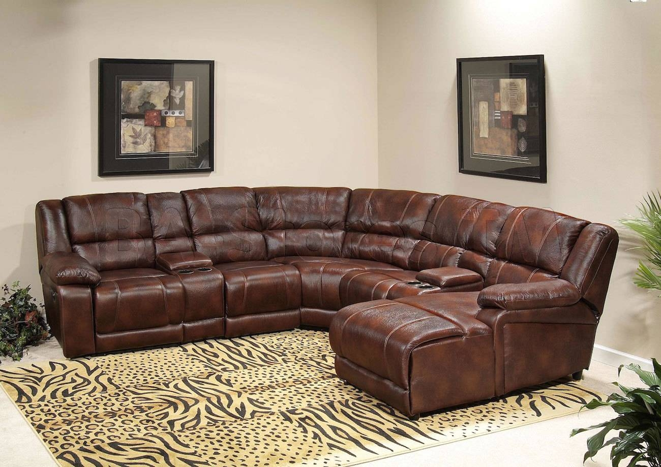 Furniture: Incredible Style Sectional Reclining Sofas For Your with Recliner Sectional Sofas (Image 13 of 30)