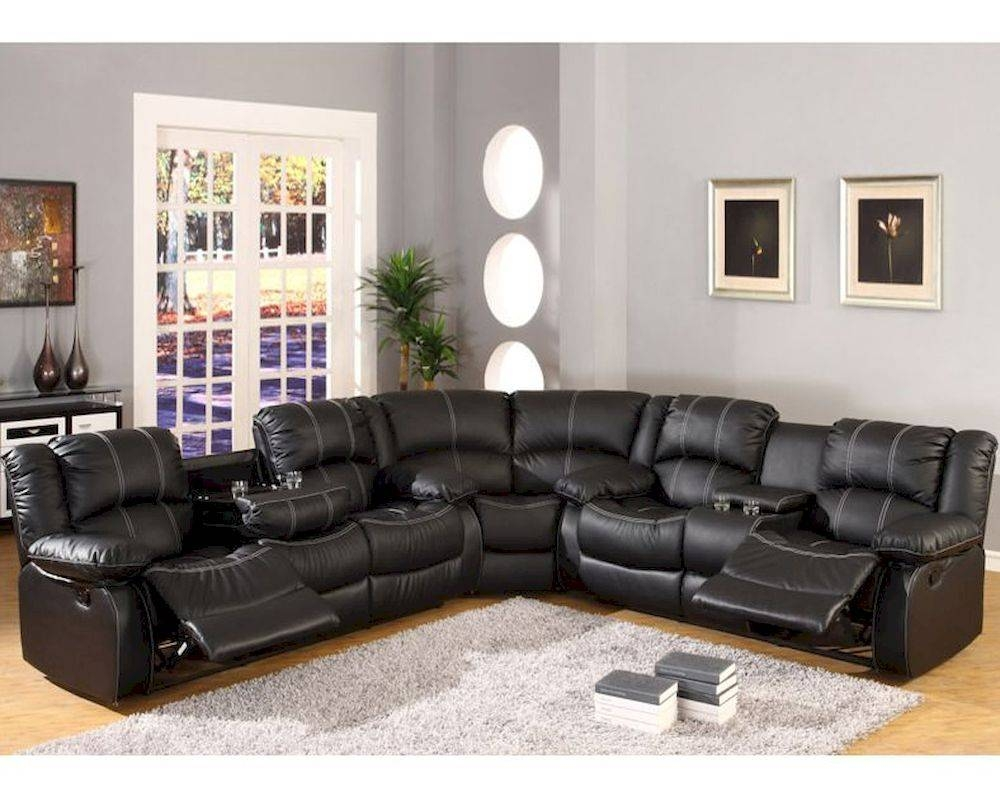 Furniture: Incredible Style Sectional Reclining Sofas For Your with regard to Sectional Sofas for Small Spaces With Recliners (Image 10 of 30)