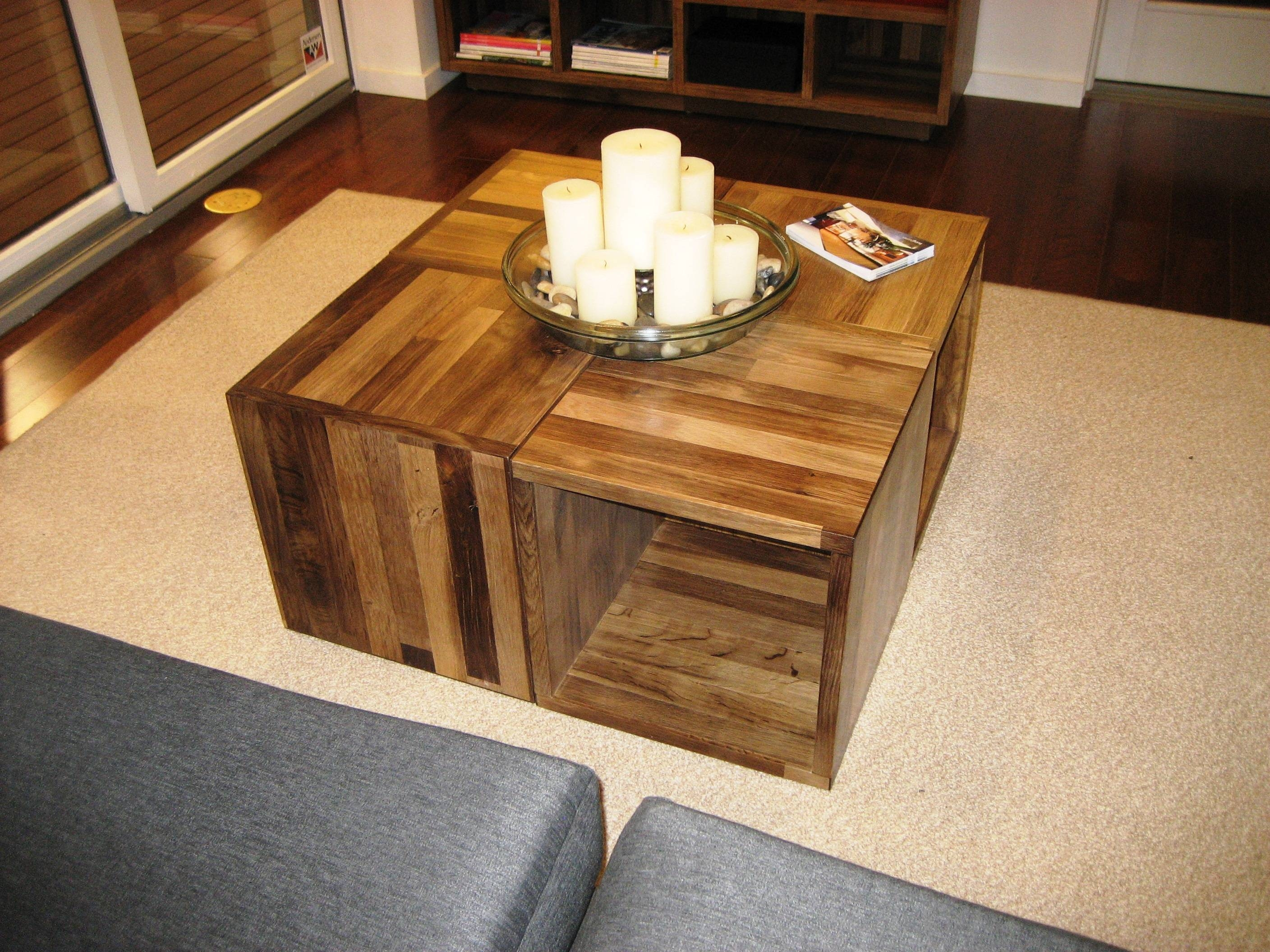 Furniture: Inexpensive Coffee Tables With Different Styles And regarding Wooden Storage Coffee Tables (Image 10 of 30)