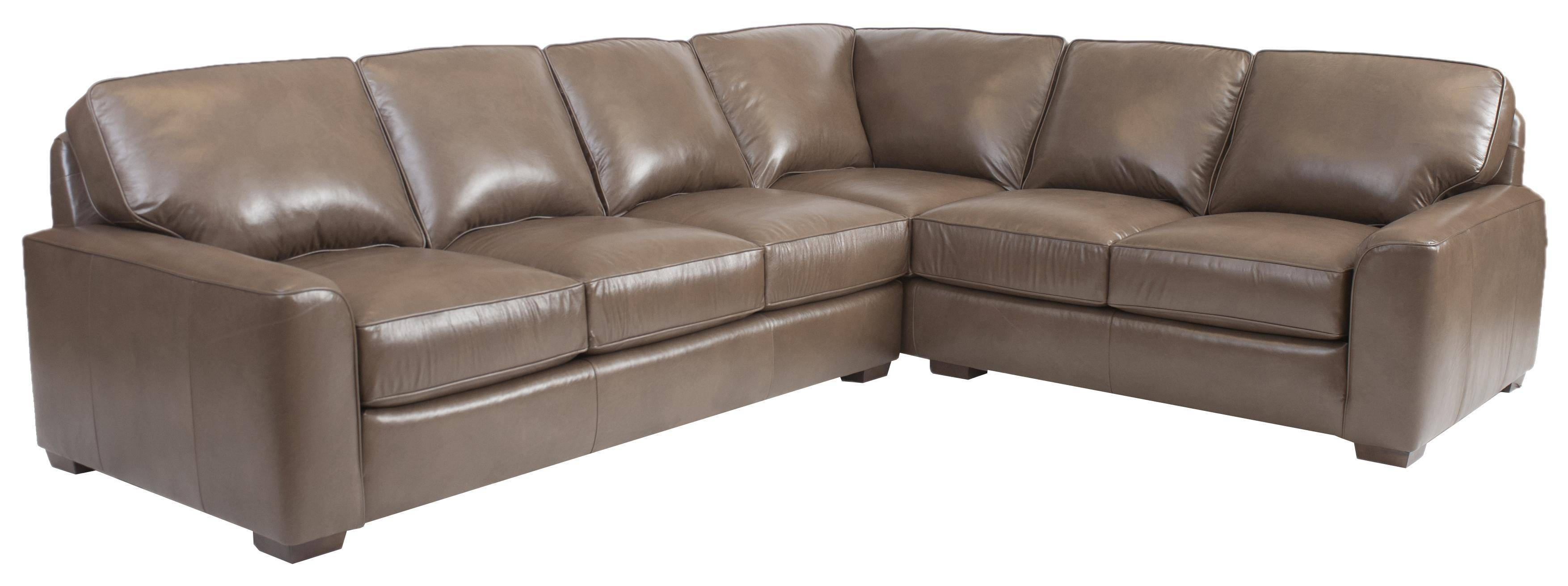 Furniture: Interesting Living Room Interior Using Large Sectional intended for Sectional Sofa With Large Ottoman (Image 8 of 30)