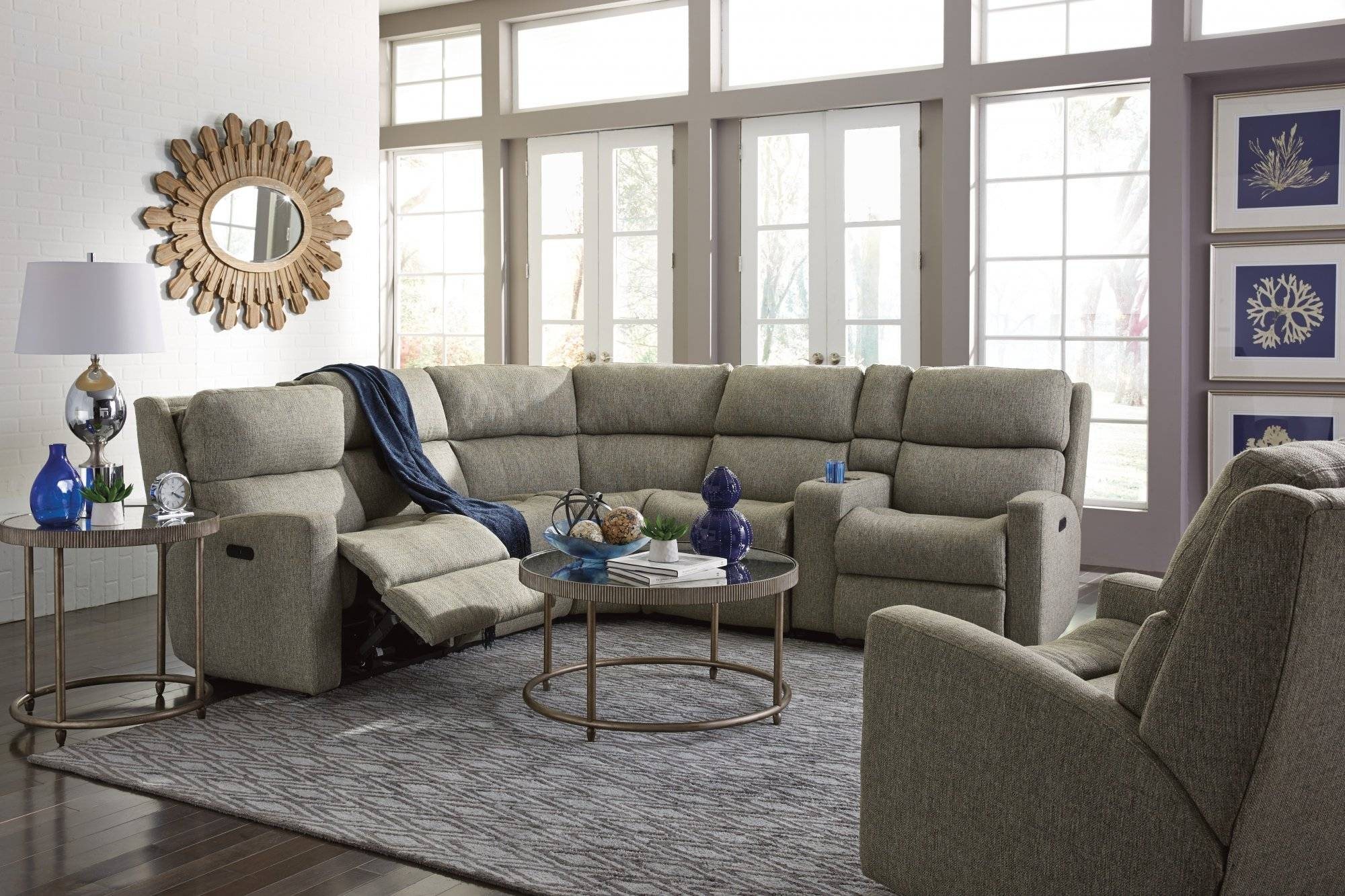 Furniture: Jedd Fabric Reclining Sectional Sofa | Sectional throughout Jedd Fabric Reclining Sectional Sofa (Image 13 of 30)
