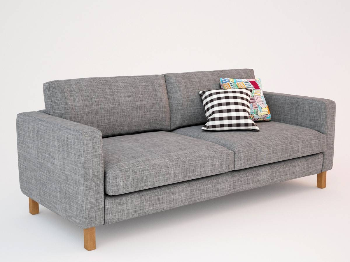 Furniture: Karlstad Sofa For Great Seating Comfort Design Ideas within Ikea Loveseat Sleeper Sofas (Image 9 of 30)