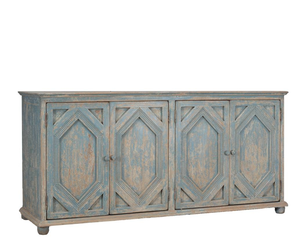 Furniture: Kitchen Hutch Buffet | Distressed Sideboard for Unfinished Sideboards (Image 10 of 30)
