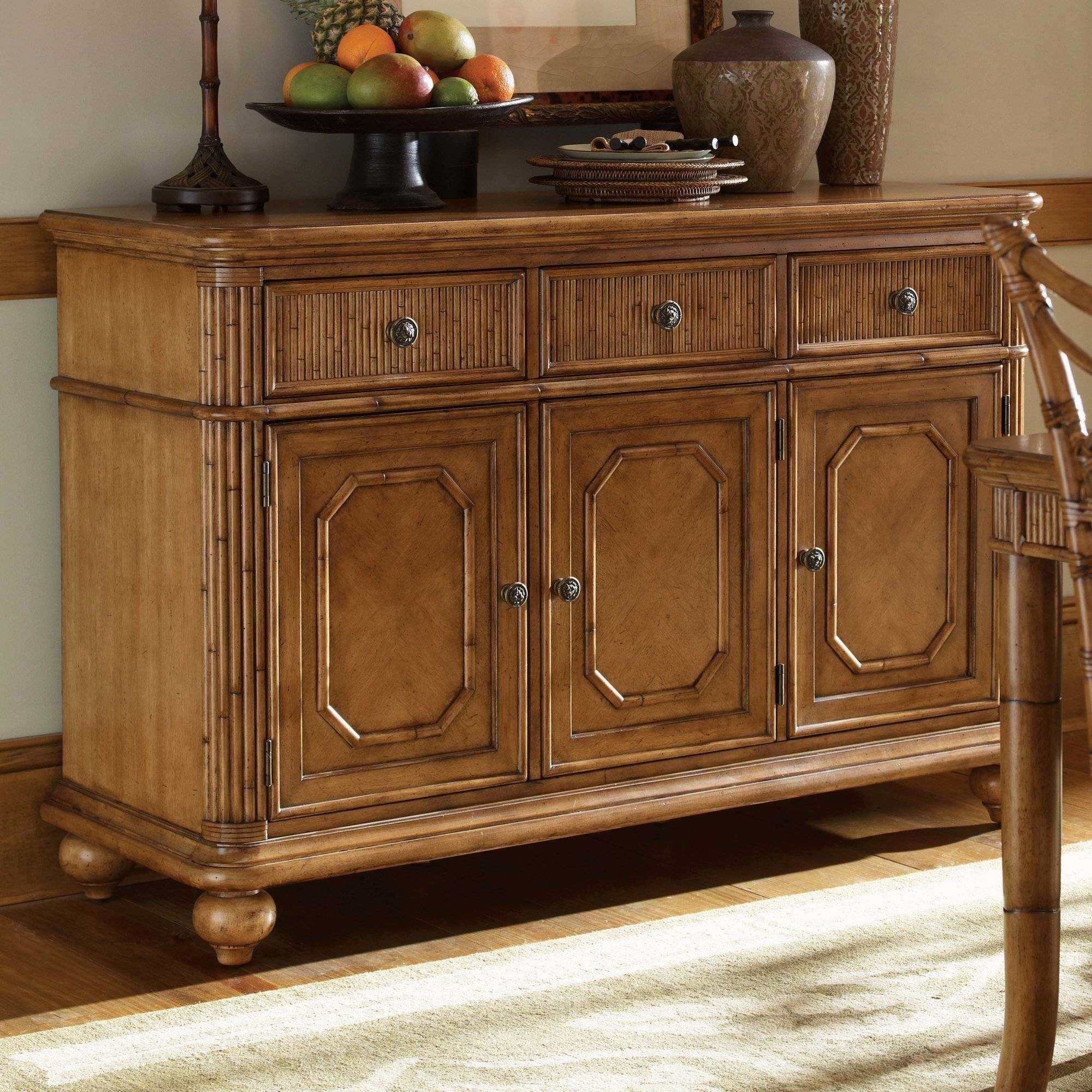 Furniture: Kitchen Hutch Buffet | Distressed Sideboard intended for Unfinished Sideboards (Image 11 of 30)