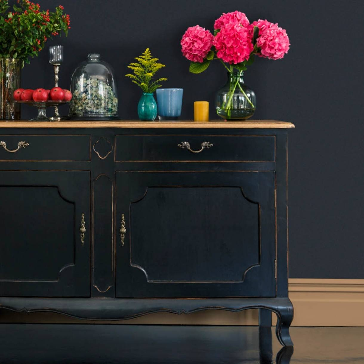 Furniture: Kitchen Hutch Buffet | Distressed Sideboard regarding Unfinished Sideboards (Image 13 of 30)