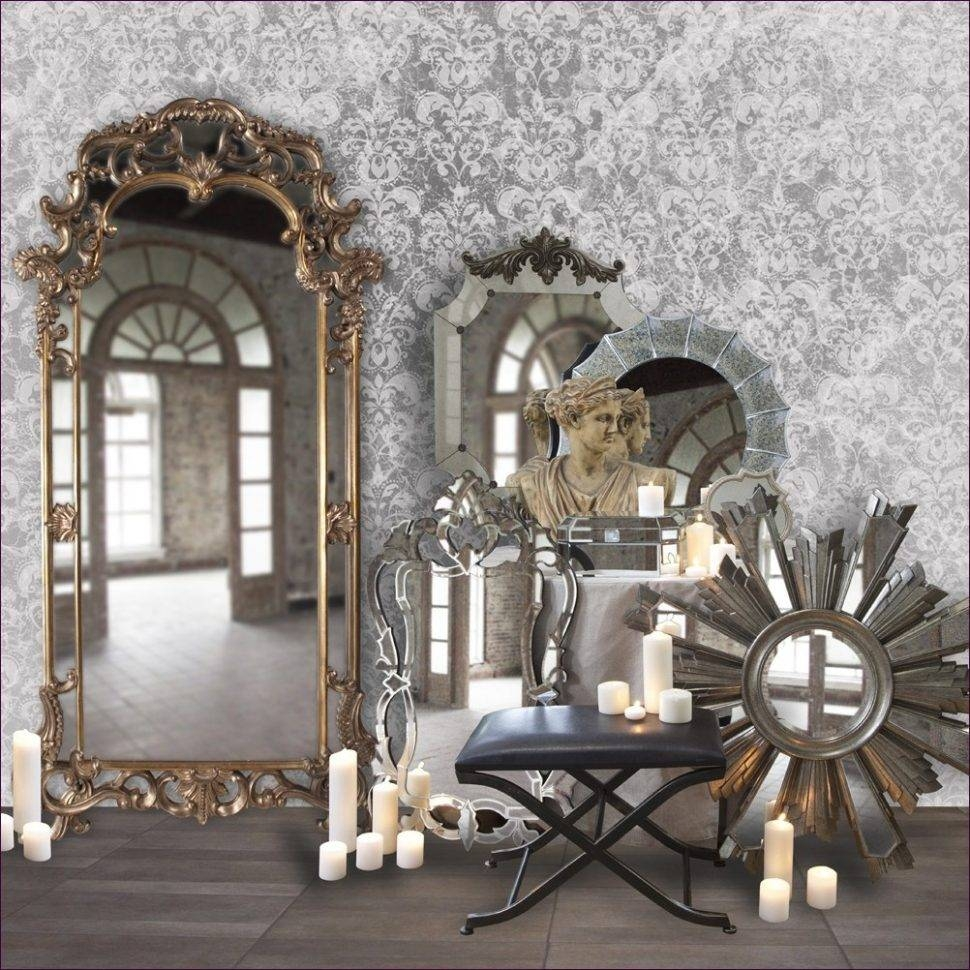 Furniture : Large Leaning Floor Mirror Small Mirror Long Stand Up with regard to Decorative Long Mirrors (Image 8 of 25)