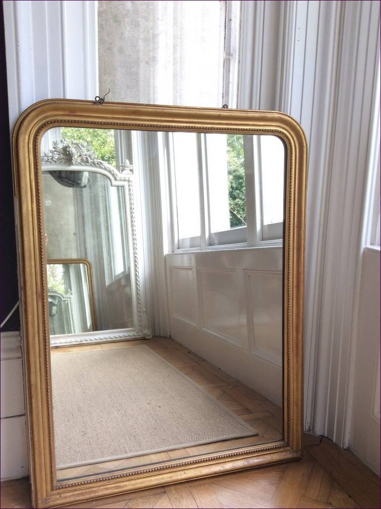 Furniture : Large Mirror On Wall Carved Floor Mirror Bathroom throughout Frameless Arched Mirrors (Image 15 of 25)
