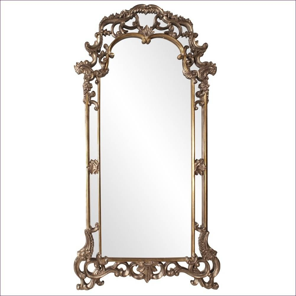 Furniture : Large Ornate Mirrors For Wall White Arch Mirror Black Within Frameless Arched Mirrors (View 17 of 25)