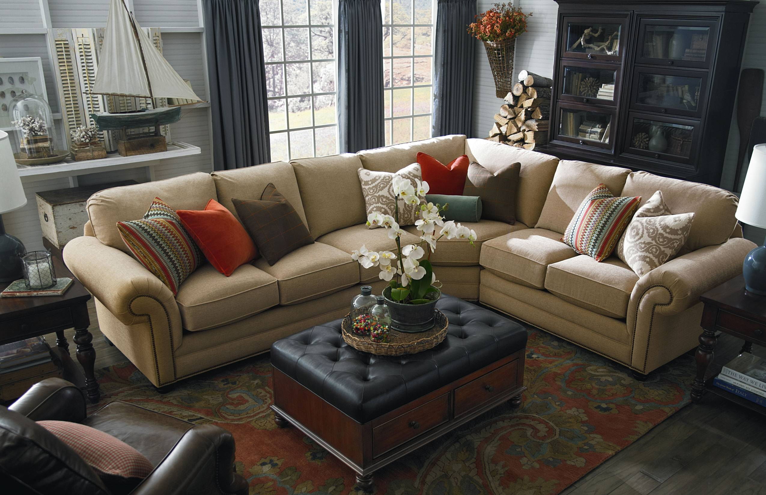 Furniture: Large Sectional Sofas | Large Deep Sectional Sofas in Sectional Sofa With Oversized Ottoman (Image 13 of 30)